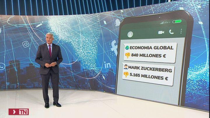 Pérdidas millonarias tras la caída de Facebook, Whatsapp e Instagram