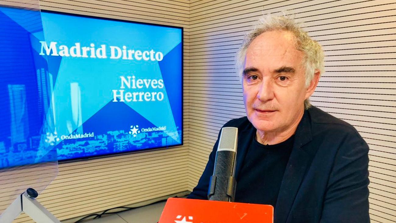 """Ferran Adriá nos presenta 'La Huella de elBulli': """"La gente puede pensar que soy un tío raro, pero soy muy normalito"""""""