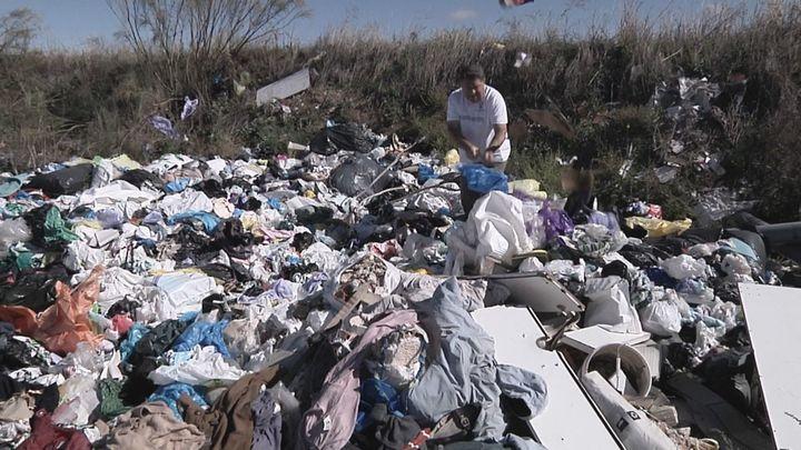 Un polígono industrial de Humanes, foco de toneladas de residuos