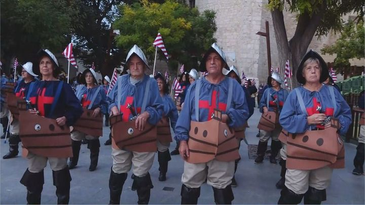 Villarejo de Salvanés recrea la batalla de Lepanto