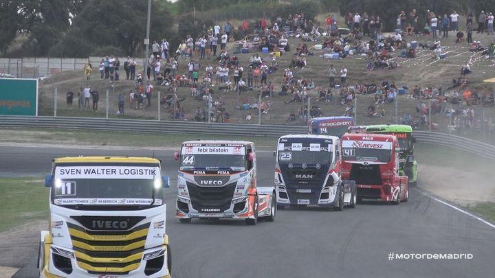 El Circuito del Jarama ruge con el Campeonato de España y de Europa de camiones