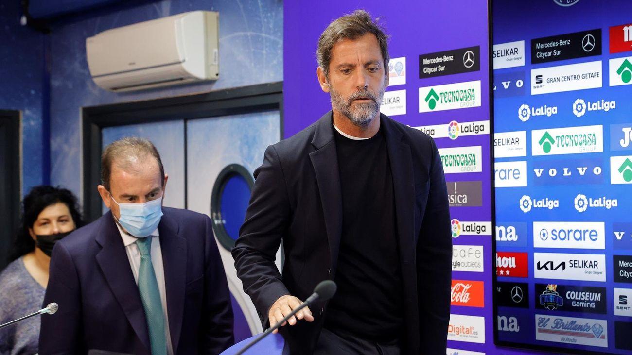 El Getafe oficializa el regreso de Quique Sánchez Flores