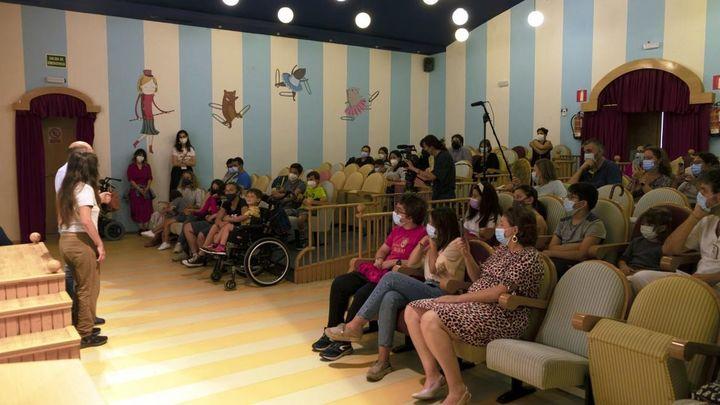 Teatro en el Hospital Niño Jesús de Madrid para niños con problemas neurológicos
