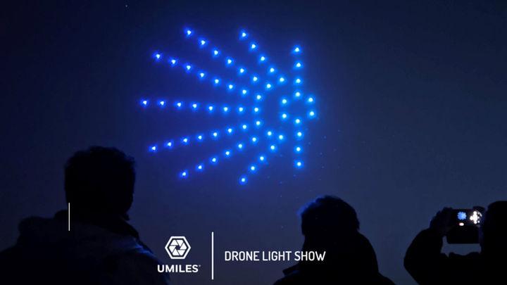 Móstoles proyectará el sábado el espectáculo de drones suspendido en Fiestas