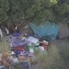 Los vecinos de Arganzuela denuncian un asentamiento ilegal que no para de crecer