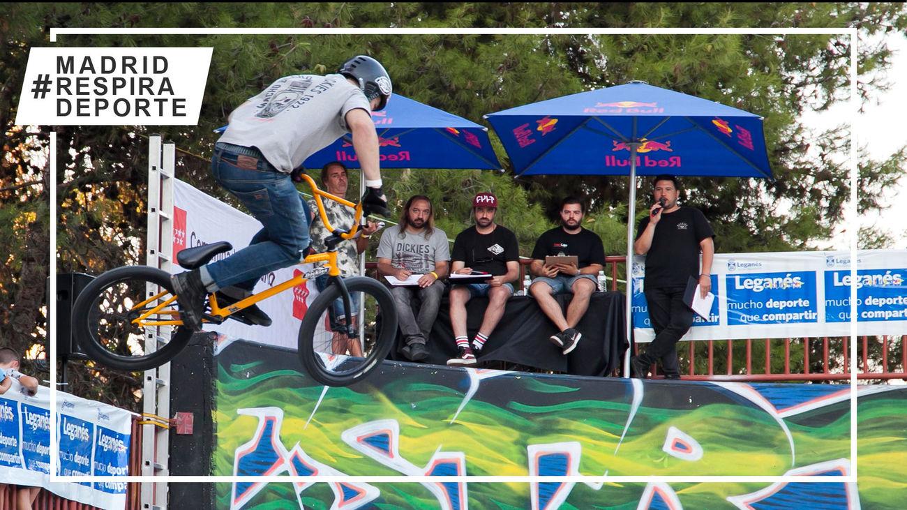 Daniel Peñafiel y Teresa Fernández, favoritos en Madrid en el Campeonato de España de BMX Freestyle