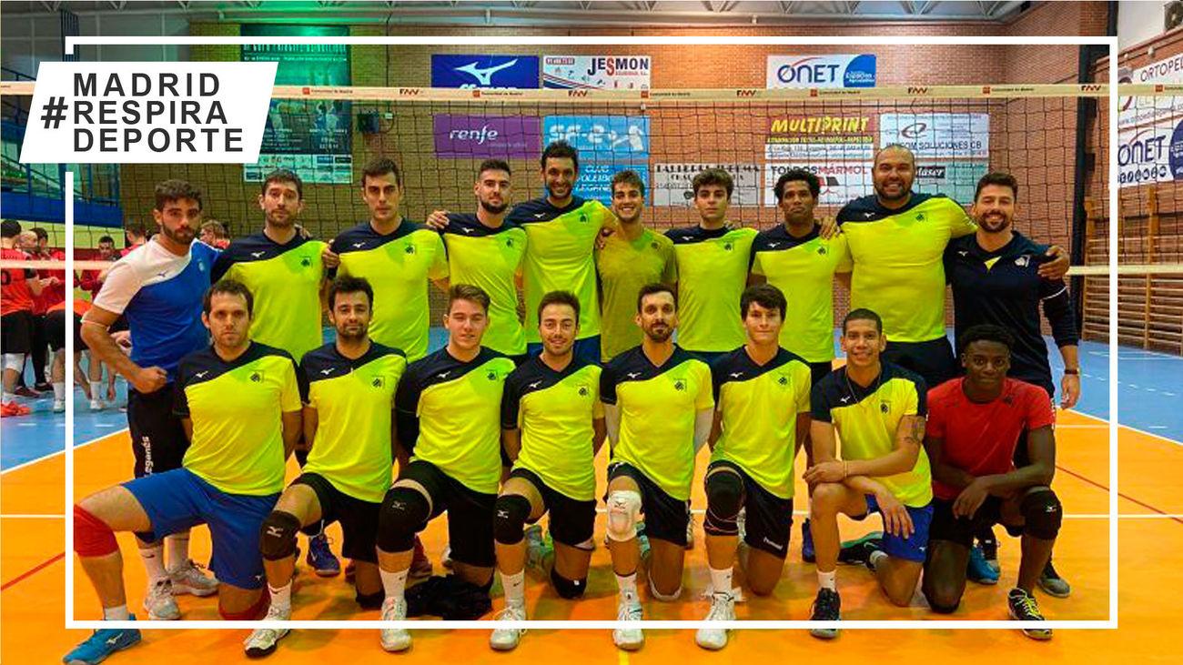 Voleibol Leganés, listo para empezar su décima Superliga Masculina 2