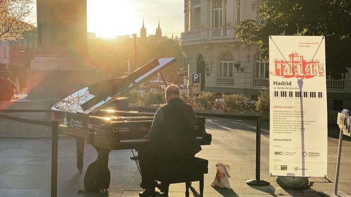 Diez pianos de cola llenarán de música este jueves el Barrio de Las Letras