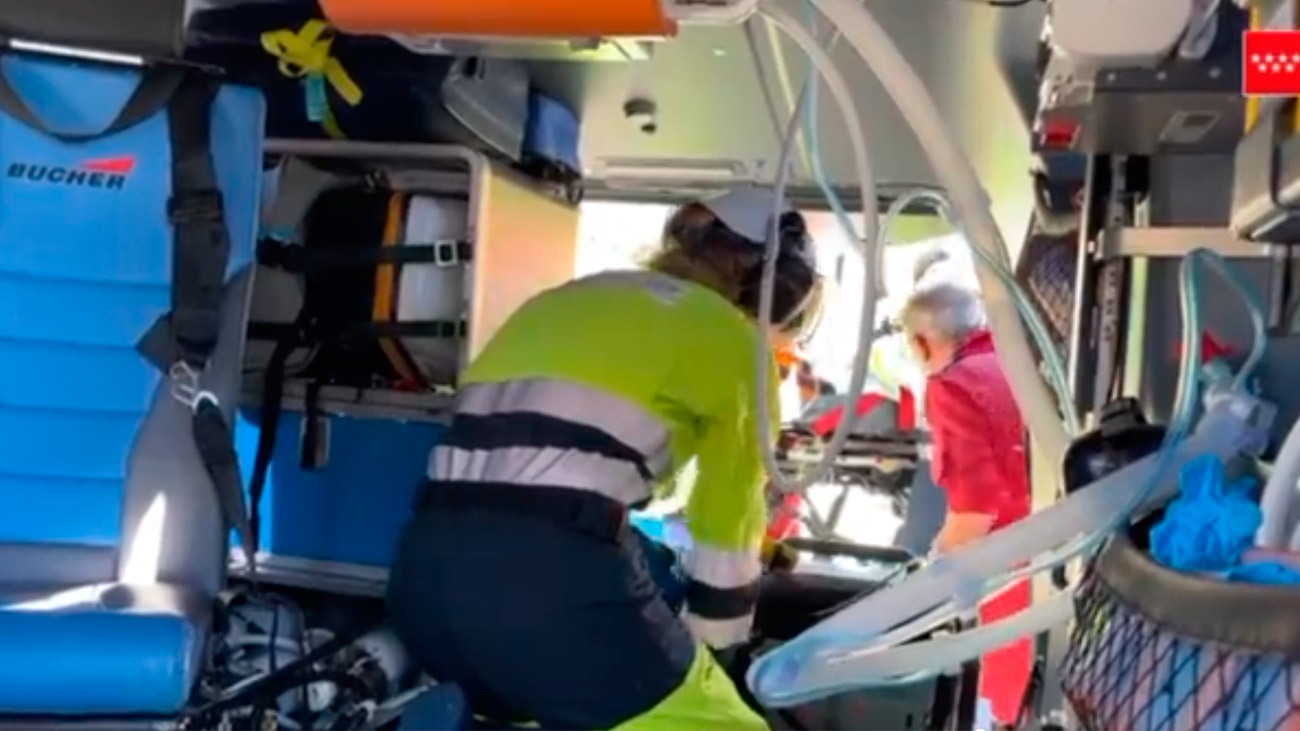 Un autobús atropella de gravedad a un joven de 18 años en Collado Villalba