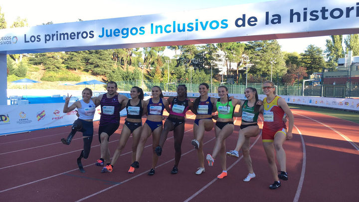 Los primero Juegos Inclusivos culminan con un oro en igualdad