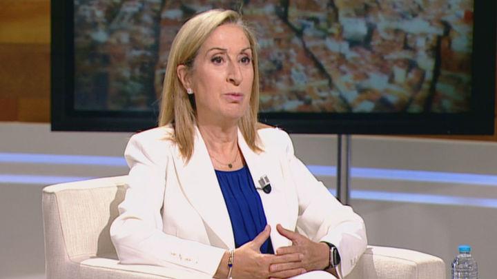 """Ana Pastor: """"Ayuso es una buena persona y una gran gestora. En política hay que ser buena gente"""""""