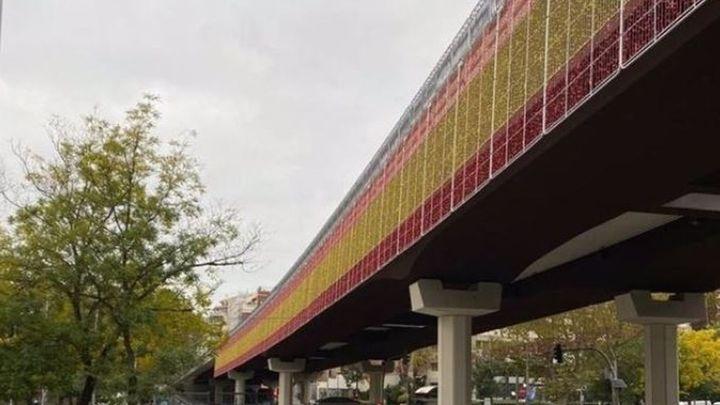 La bandera de España volverá a estar presente en las luces de Navidad de Madrid