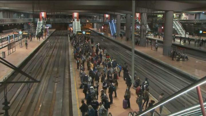 Normalidad en Cercanías Madrid tras el fin de la huelga, que la mantiene un sindicato minoritario