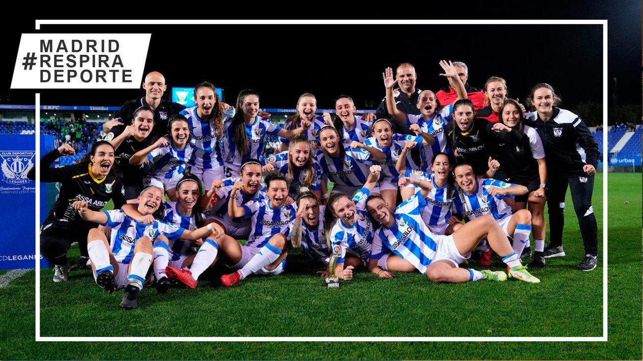 El Leganés, campeón del Trofeo Villa de Leganés Femenino