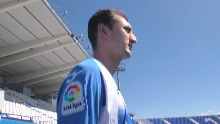 Iván Fernandez, capitán del CD Leganes, de niño milagro, al milagro del fútbol