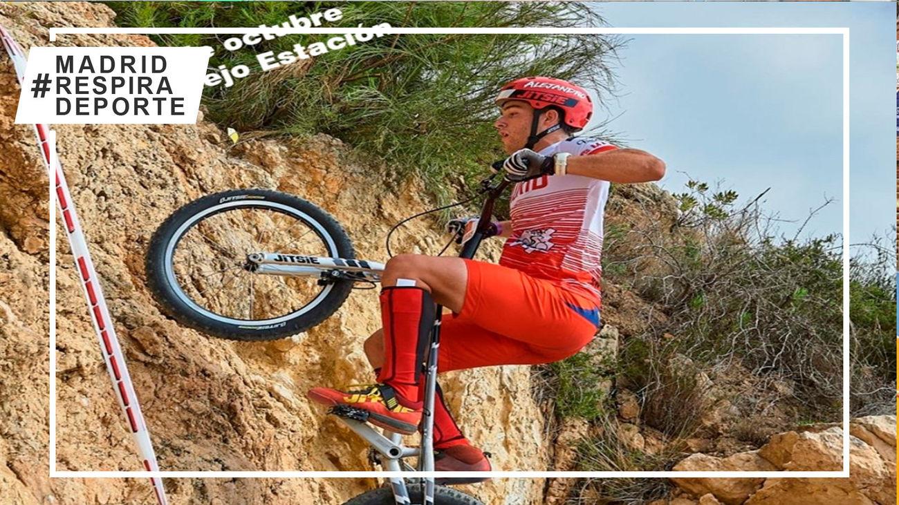 Zarzalejo acoge el Campeonato de Madrid de trial bici el 17 de octubre