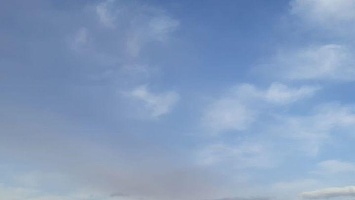 Vuelos cancelados y desvíos en el aeropuerto de Tenerife Norte por las cenizas del volcán de La Palma