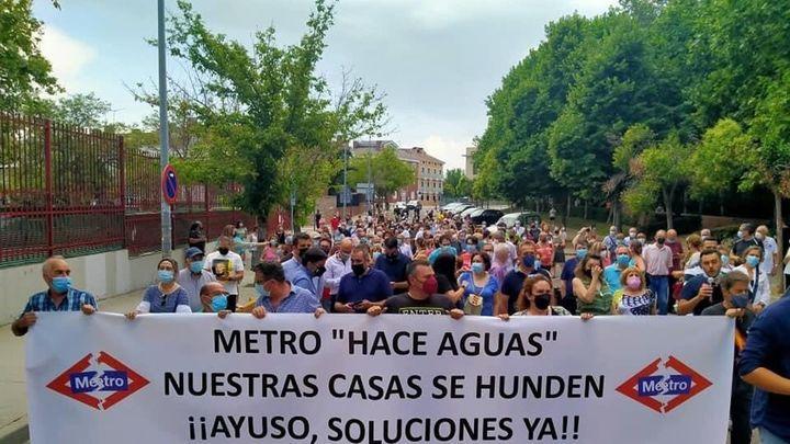 Posibilidad de más desalojos en San Fernando por los daños del metro a las viviendas