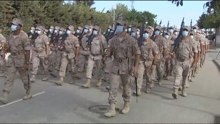 Así se prepara la Infantería de Marina para el desfile militar del 12 de octubre