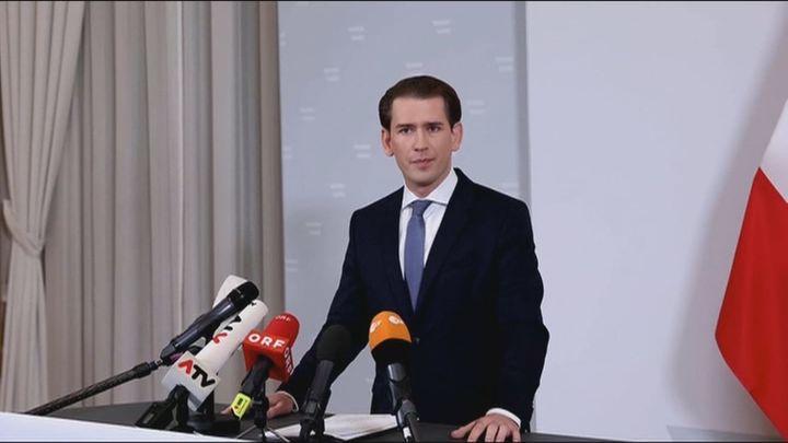 El canciller austríaco, Sebastian Kurz, dimite acusado de corrupción