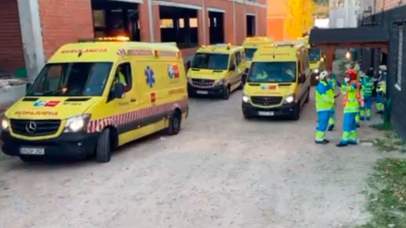 Muere una anciana de 83 años en el incendio de una residencia en Navas del Rey