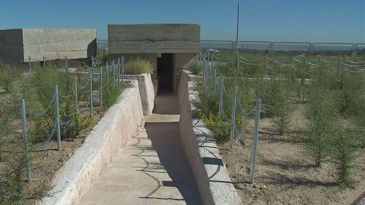 Los fortines de Mata Espesa ya están en su nueva ubicación