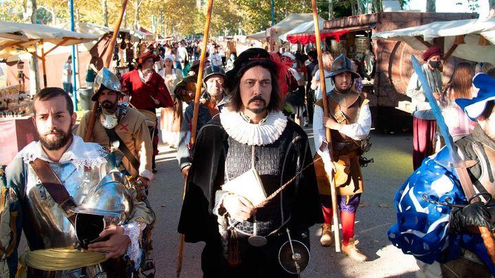 El Mercado Cervantino de Alcalá celebra el 450 aniversario de la batalla de Lepanto