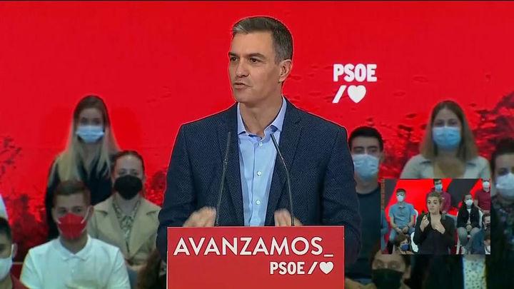 Sánchez dice que los Presupuestos garantizarán una recuperación justa