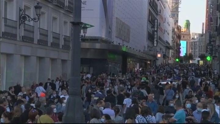 Madrid disfruta del primer puente tras dos años de restricciones
