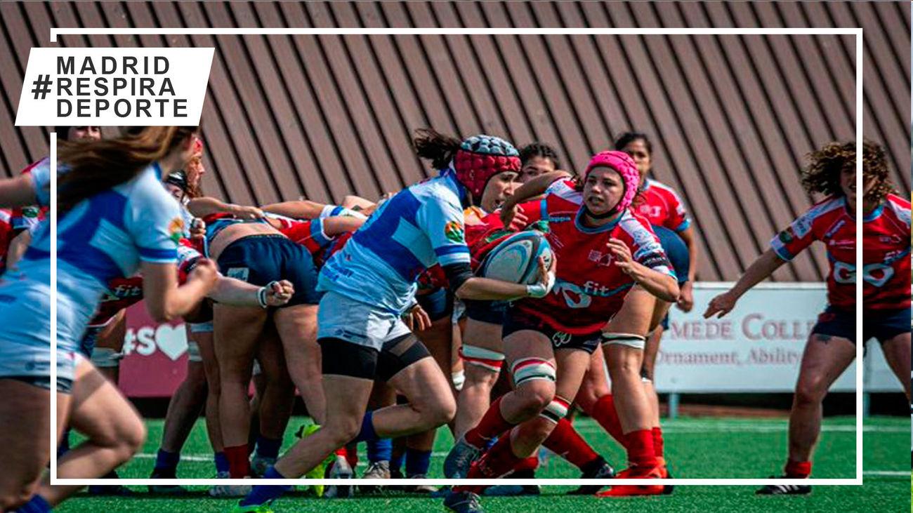 Complutense Cisneros y Olímpico se mantienen invictos en la liga femenina de rugby