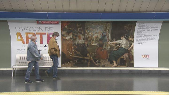 El Greco, Velázquez, Rafael y Veronese llegan a la Estación del Arte de Metro