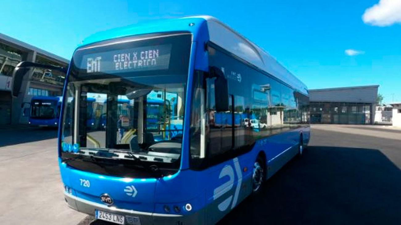 La línea 81 de EMT se moverá solo con autobuses eléctricos