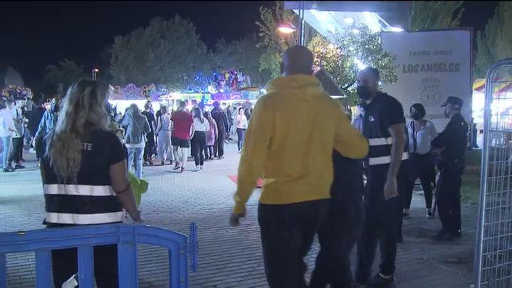Varios incidentes en las fiestas de Leganés, con cuatro detenidos