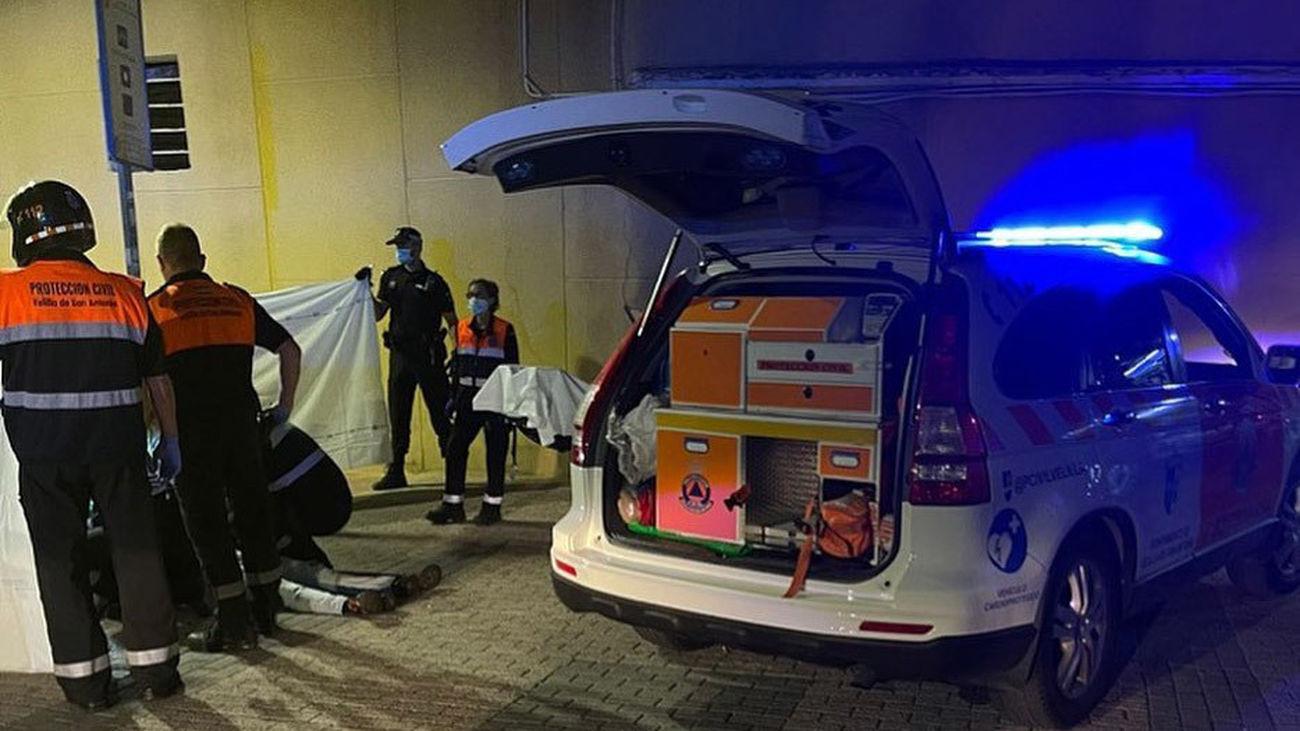 Dos apuñalados tras una reyerta en Velilla de San Antonio