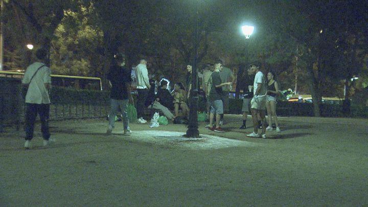 En libertad los jóvenes detenidos en los disturbios del botellón en el Parque del Oeste