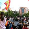 Abucheos y gritos de dimisión a Sánchez marcan el desfile del 12 de octubre