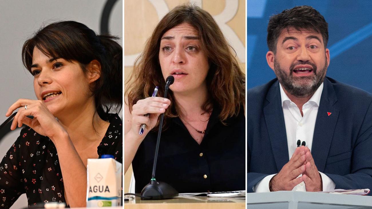 Isa Serra, Carlos Sánchez Mato y Celia Mayer se incorporan a Igualdad