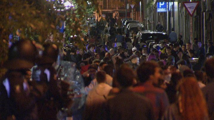 Cientos de agentes se despliegan en Madrid para evitar nuevos altercados