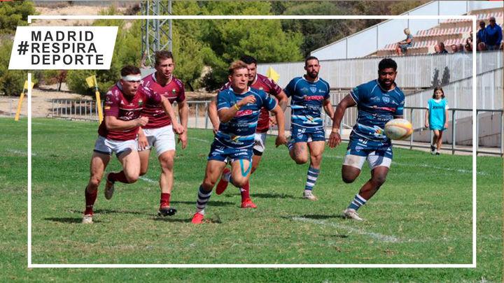 Alcobendas lidera la liga masculina de rugby con el Cisneros al acecho