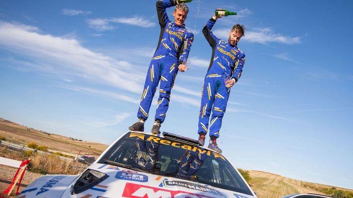 'Cohete' Suárez gana en Madrid y se proclama campeón del Rally de Tierra de Madrid
