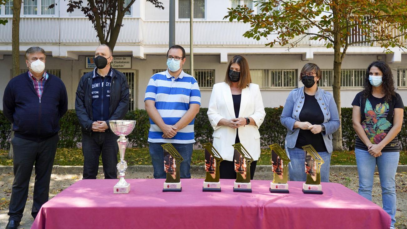Adrián Suárez Uriel gana el Torneo de Ajedrez Blizt Ciudad de Móstoles