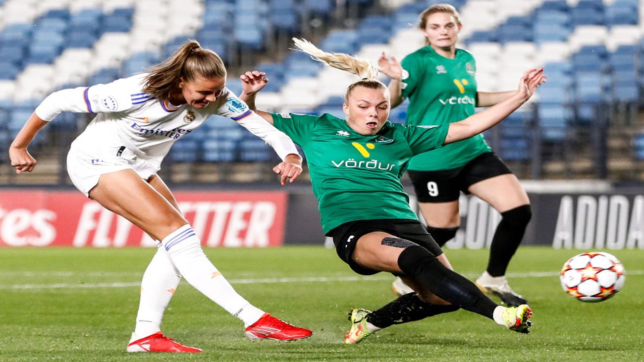 5-0. El Real Madrid se gusta en la Champions femenina ante el Breidablik
