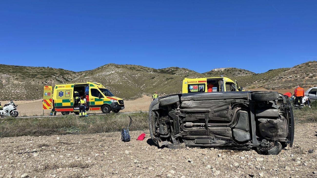 Muere un niño de 9 años en una colisión en Valverde de Alcalá