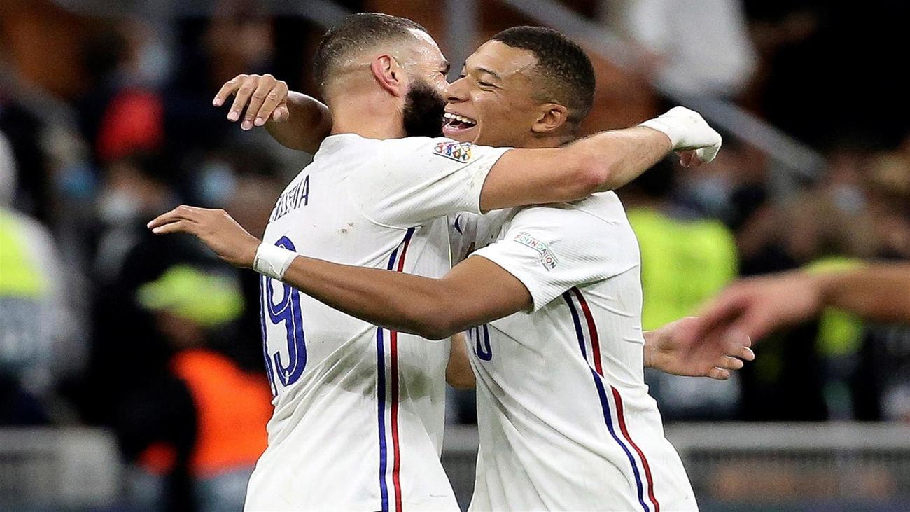 """Benzema: """"Claro que me gustaría jugar con Mbappé en el Real Madrid"""""""
