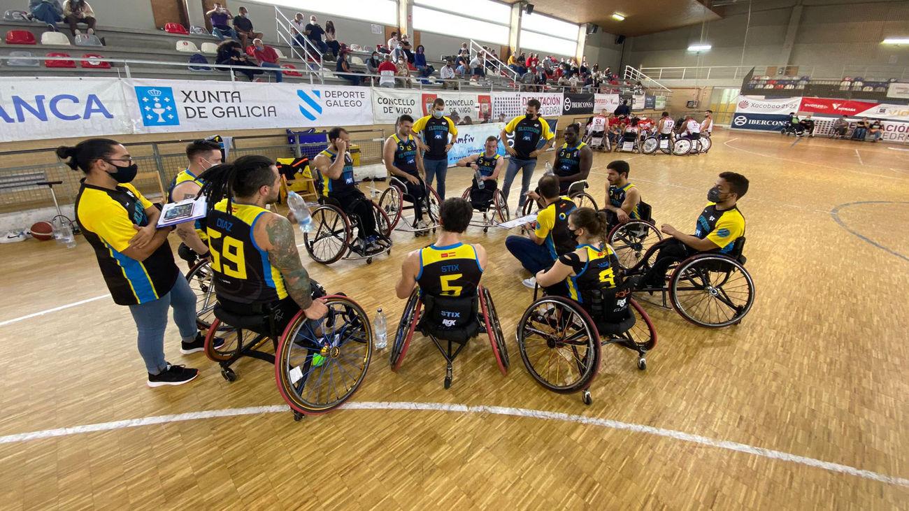 Ilunion comienza colíder de la liga de baloncesto en silla de ruedas