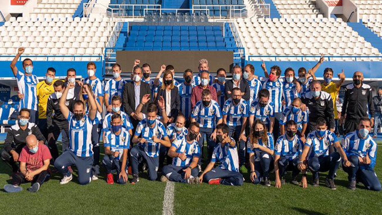 El Leganés presenta su equipo para LaLiga Genuine