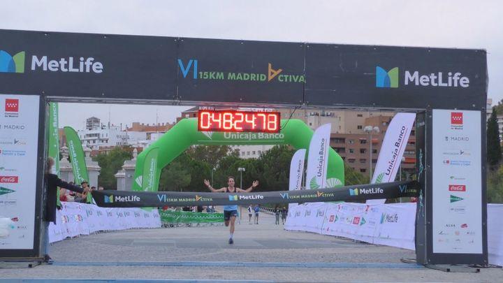 Carrera 15 km MetLife Madrid Activa, perrotón y Urban Sports