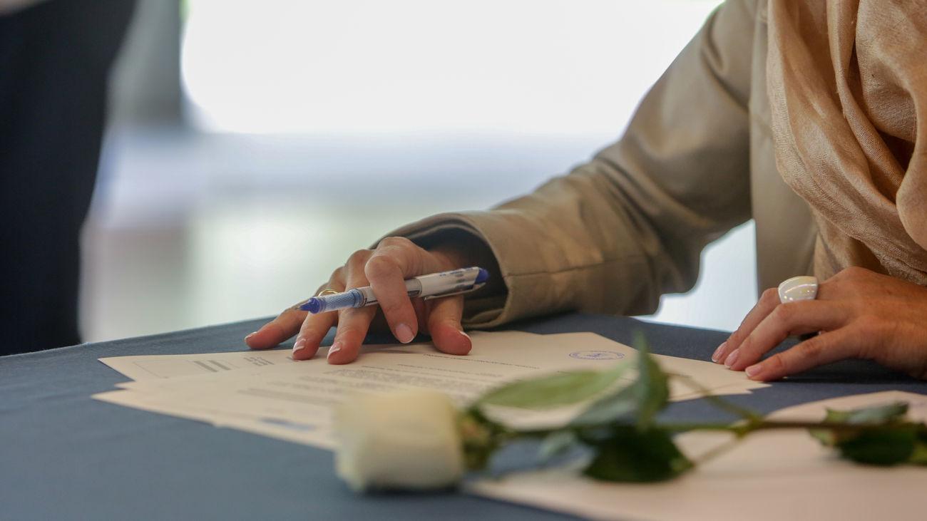El Ayuntamiento de Madrid aprueba el  calendario de celebración de bodas civiles para 2022 y 2023