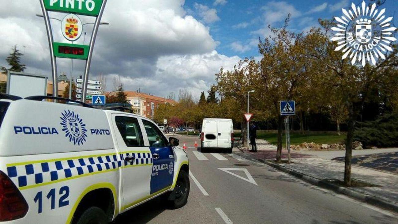 El dispositivo antibotellón de Pinto se salada con tres detenidos y decenas de denunciados