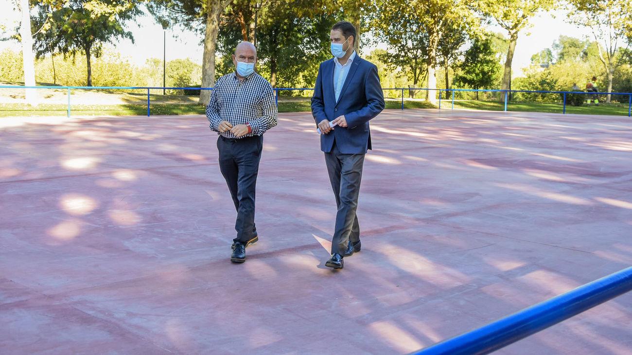 Torrejón remodela la pista de patinaje del Parque Fresnos con 1.100 metros cuadrados